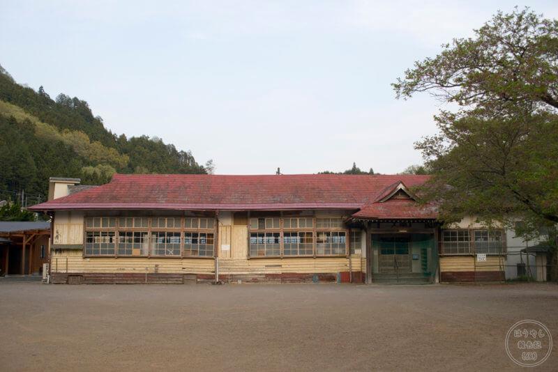 明治37年に竣工した南川小学校の旧校舎
