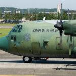 2017.06.02 横田基地に韓国空軍C-130Hが飛来