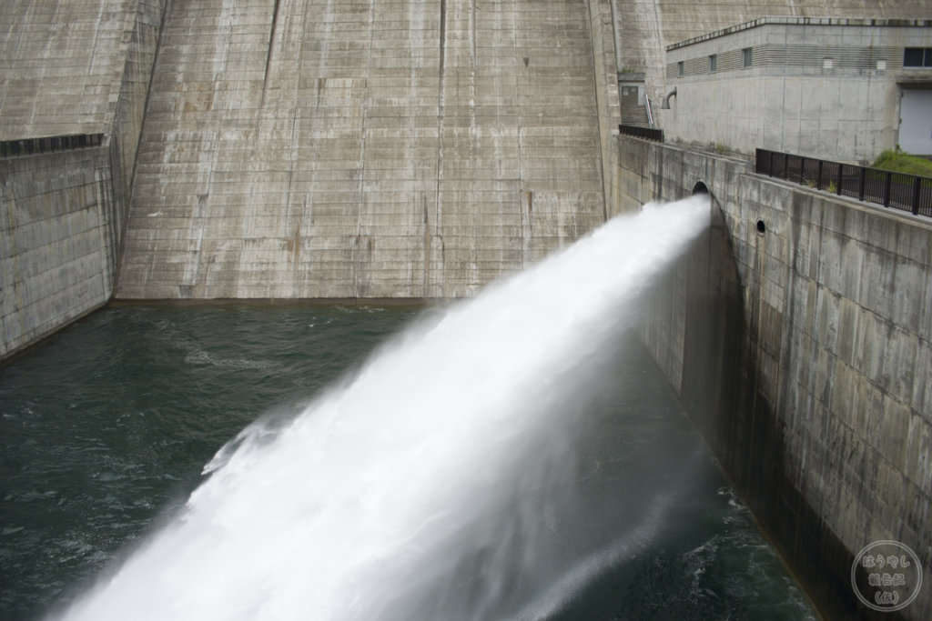利水放流設備からの放流