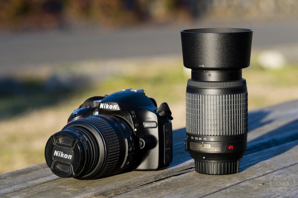 デジタル一眼レフカメラ「Nikon D3200」(ダブルズームキット)