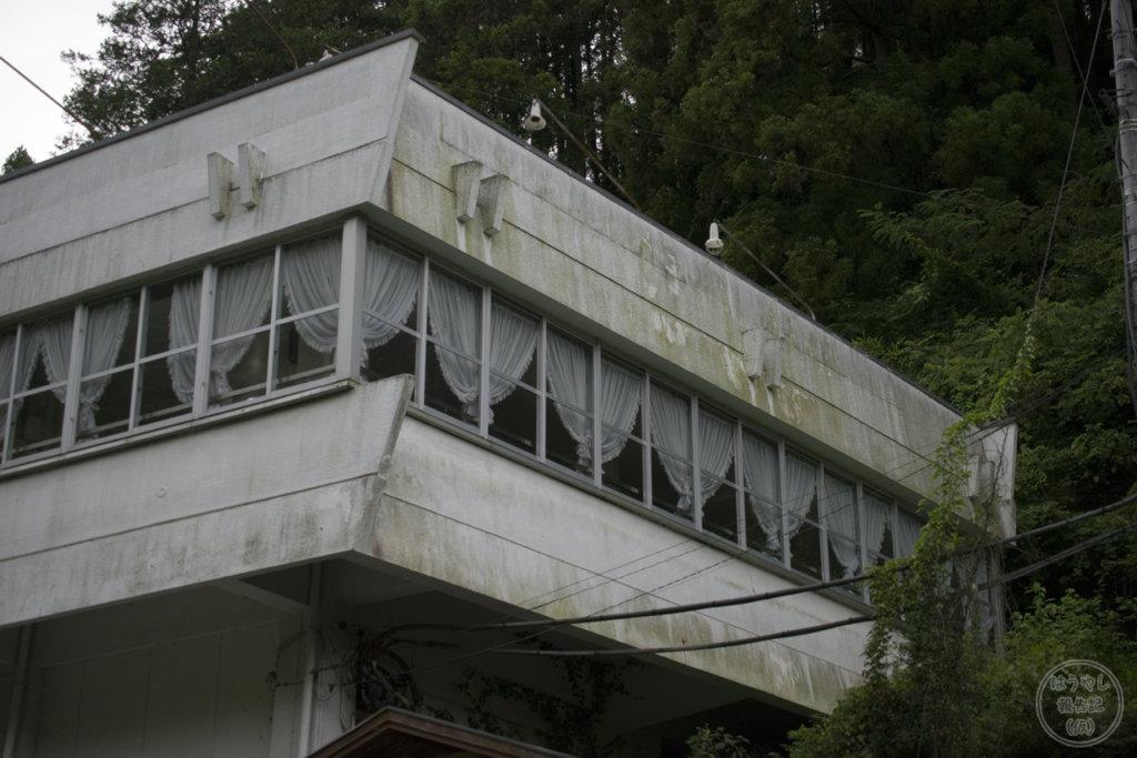 鎌北湖レイクビューホステルの外観