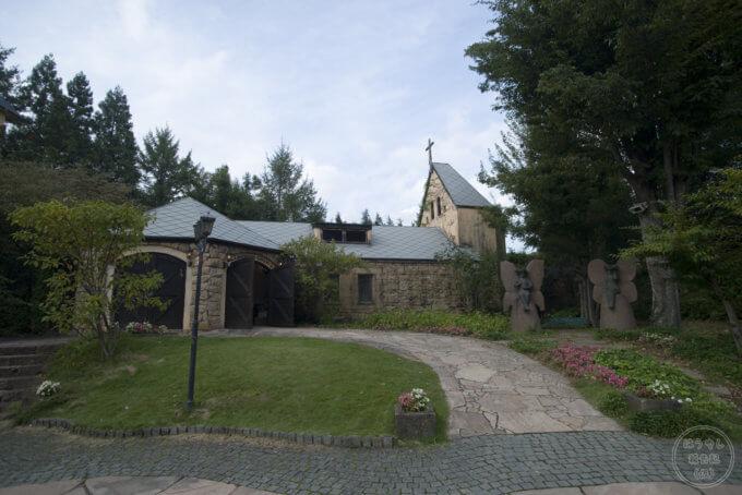 ロックハート城のセントローレンス教会