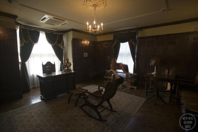 ロックハート城 主の部屋