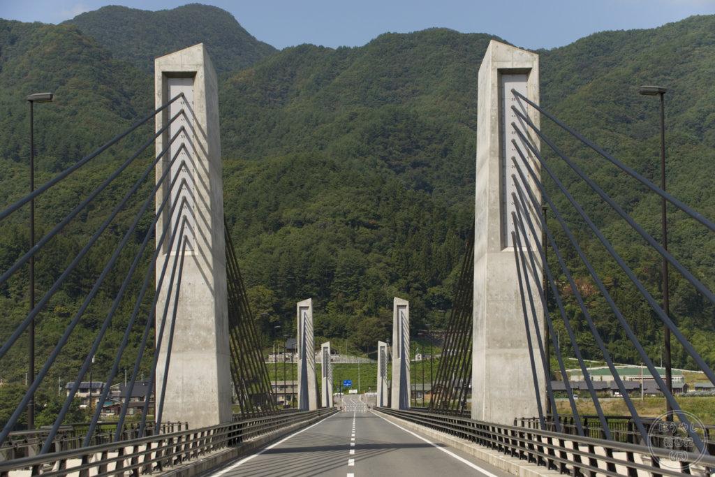 八ッ場ダムに掛かる「八ッ場大橋」