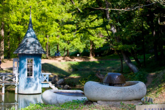 トーベ・ヤンソンあけぼの子どもの森公園 水あび小屋