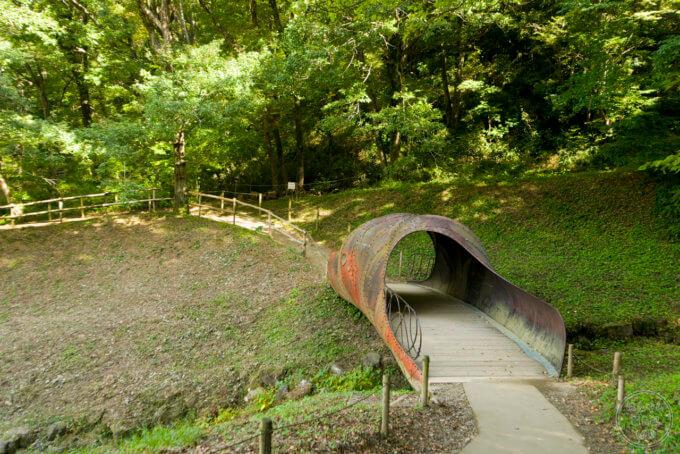 トーベ・ヤンソンあけぼの子どもの森公園 見晴らし橋