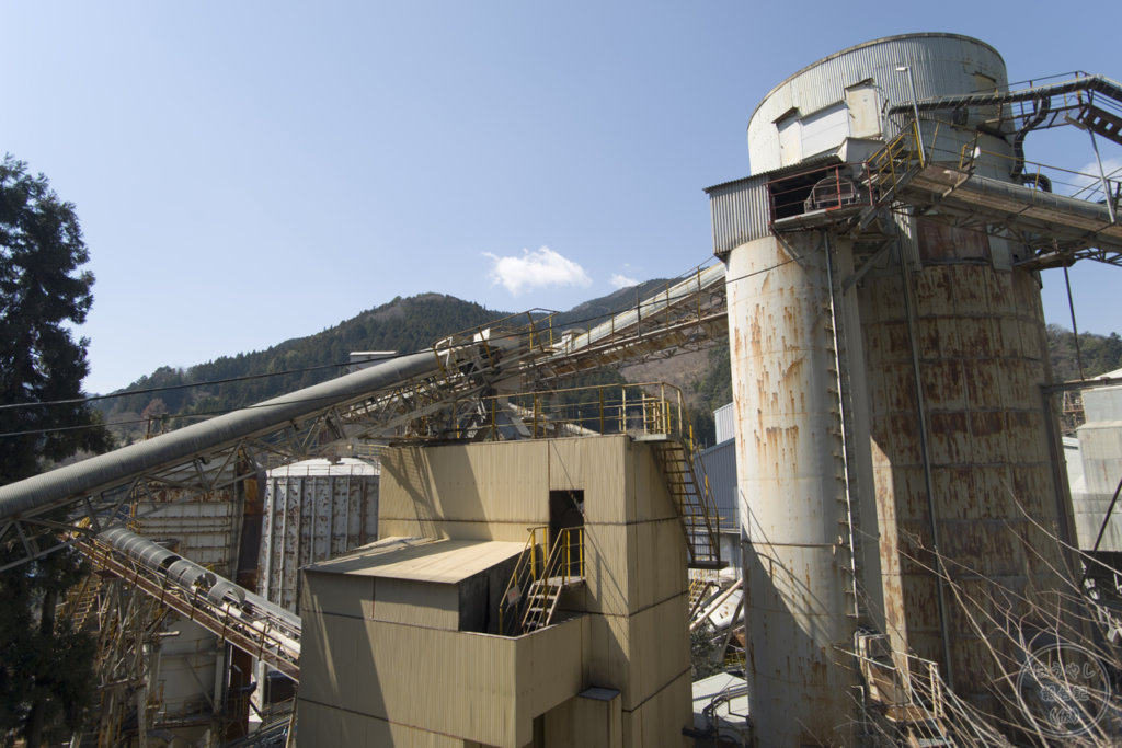 奥多摩工業氷川工場の建物