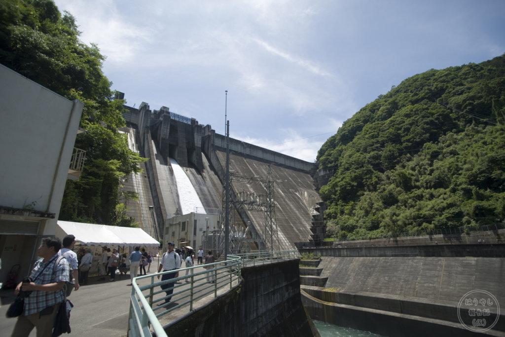 下久保ダムの発電施設