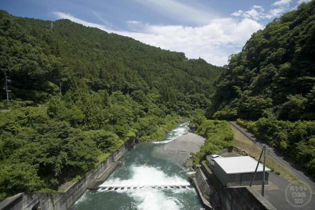 下久保ダムの下流