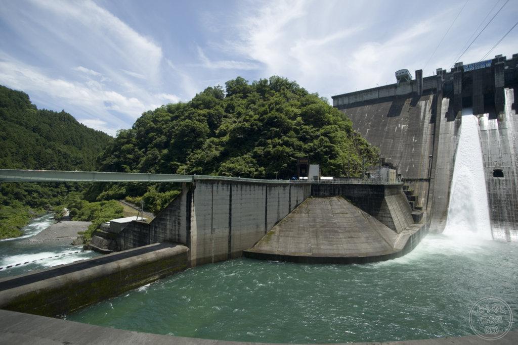 下久保ダムの減勢工