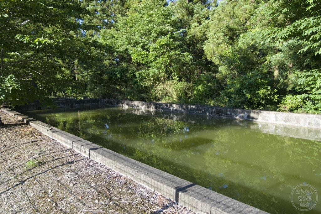 譲原小学校のプール跡