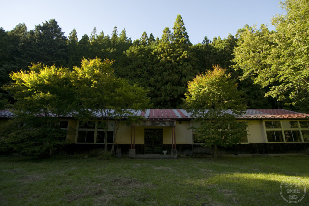 足尾町立神子内小学校(足尾小学校神子内分校)の校舎