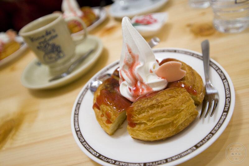 ミニシロノワール いちごチョコとカフェオーレ