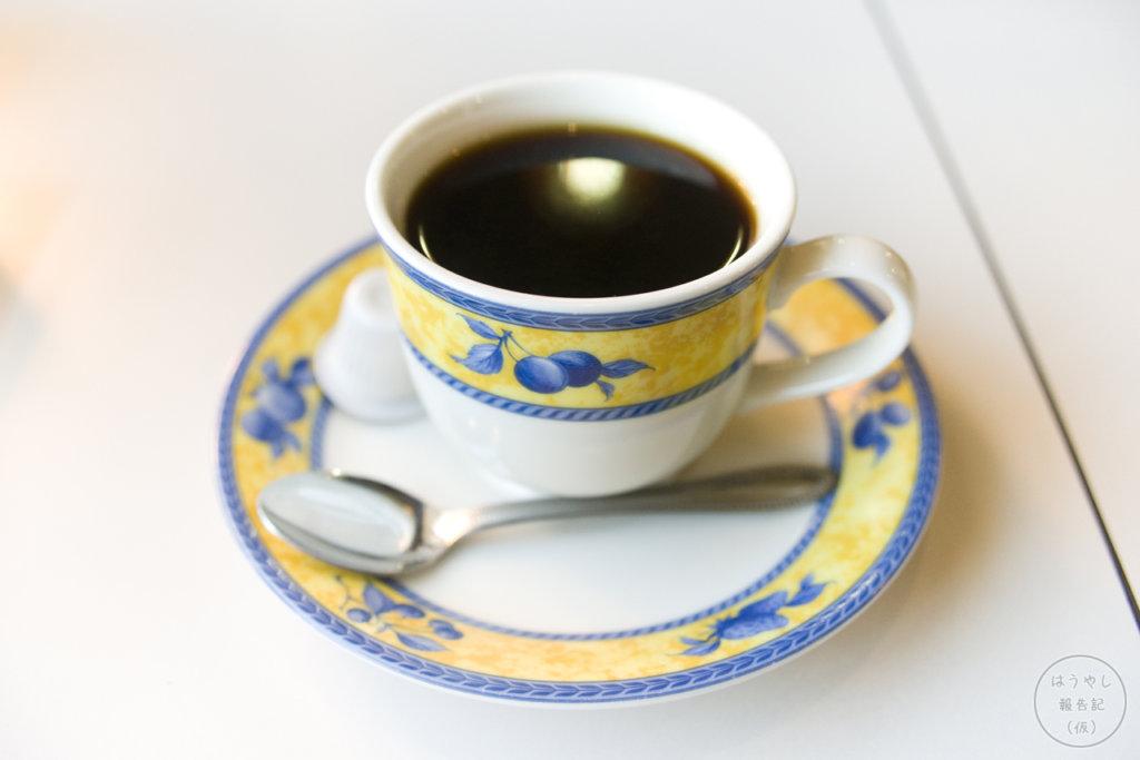 ティールーム城亜のブレンドコーヒー