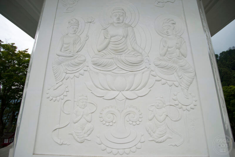 玄奘三蔵塔の装飾