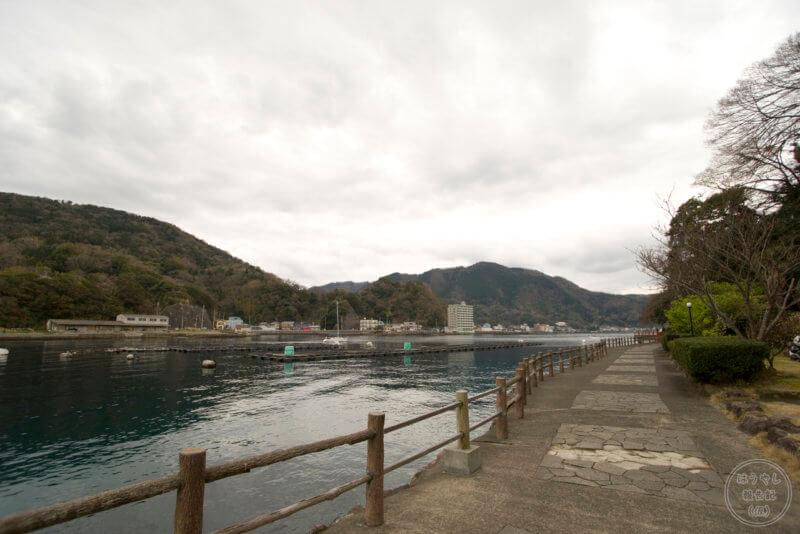 淡島の外周路