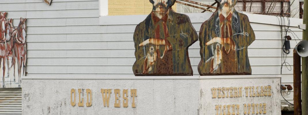 廃墟「日光ウエスタン村」アメリカ西部開拓時代を再現したテーマパークの今
