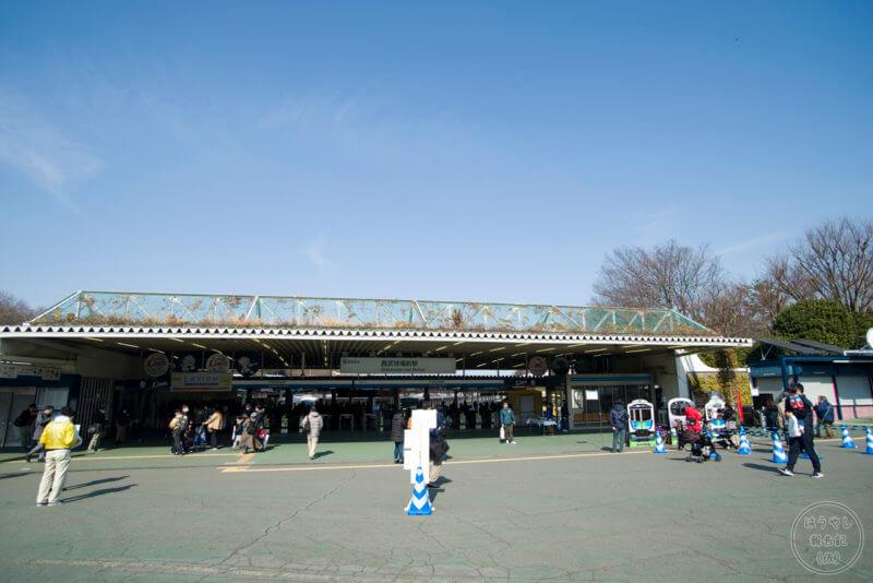 西武狭山線の西武球場前駅