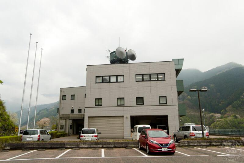 浦山ダムに隣接する荒川ダム総合管理所