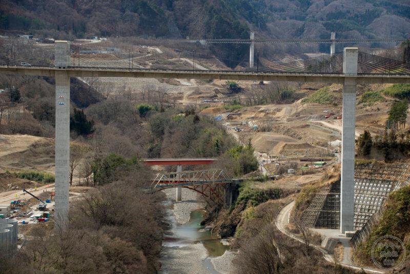 八ッ場大橋とダムに沈む橋たち