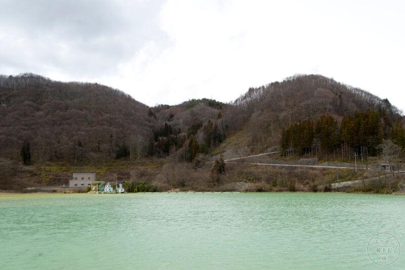 品木ダムの風景