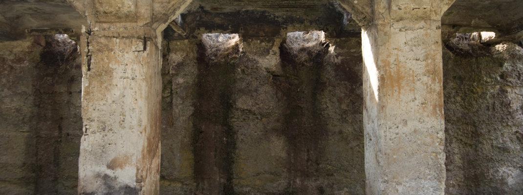 鉱山の遺構「ホッパー」が残る太子駅跡、群馬県中之条町「群馬鉄山(入山元山)の歴史」