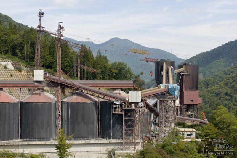 2018年10月3日 八ッ場ダム建設風景(やんば見放台より)