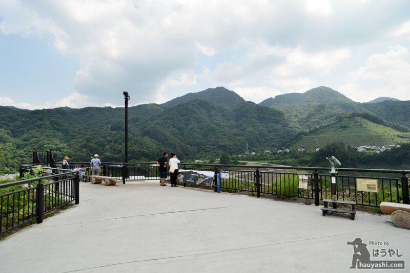 八ッ場ダム展望台「やんば見放台」
