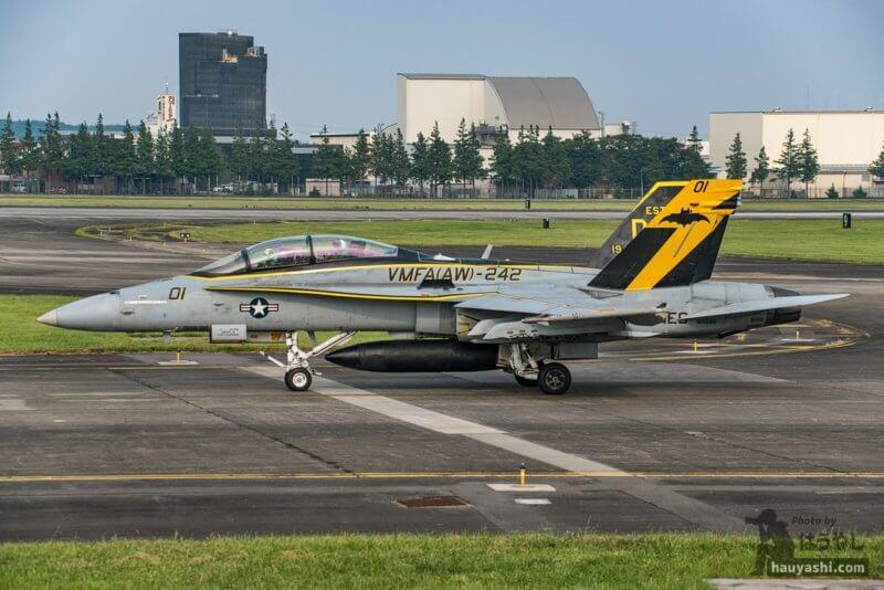 "VMFA(AW)-242 ""Bats(バッツ)"" F/A-18D (DT01/165685)"