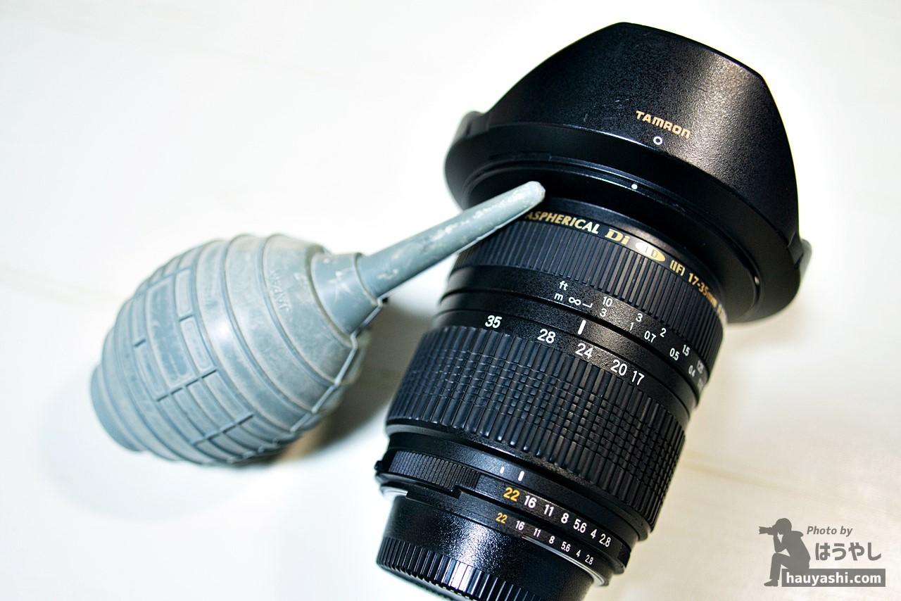 初心者必見!カメラ・レンズなど撮影機材の手入れについて
