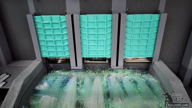 藤原ダム オリジナルのダムカード発券機