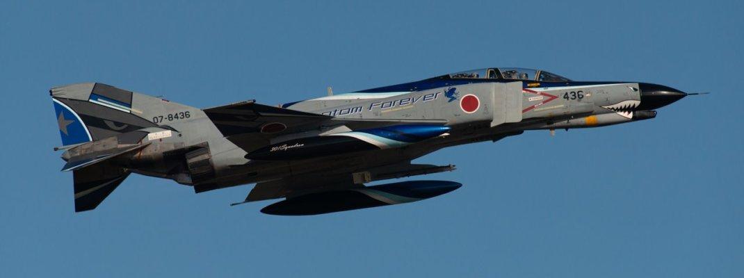 """まさかの特別塗装機!最期のF-4EJ改""""ファントム""""が入間基地に飛来した「航空観閲式2020」"""
