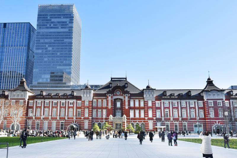 東京駅(西側)