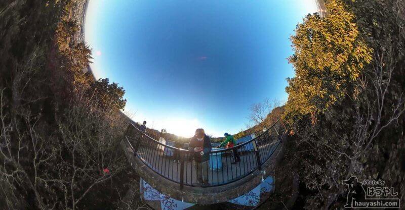 360度カメラ「RICOH THETA SC2」で撮影した写真