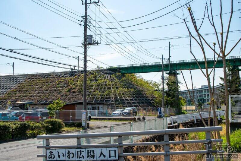 JR八高線の入間川橋梁(おさまけ第1話に登場した鉄橋)
