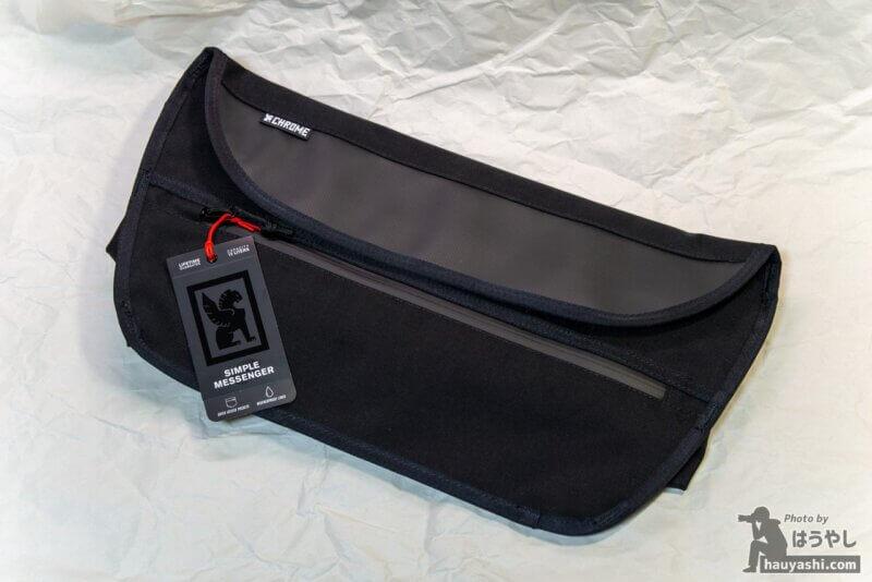 CHROME メッセンジャーバッグ「SIMPLE MESSENGER BAG」